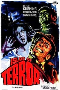 Island of Terror poster