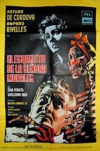 Skeleton of Mrs. Morales poster