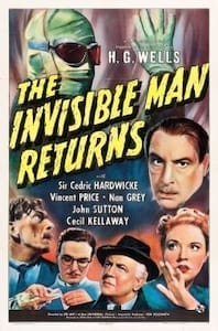 The Invisible Man Returns poster