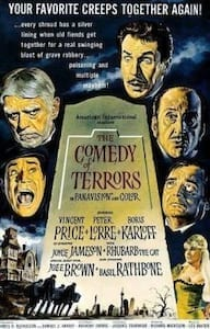 The Comedy of Terrors poster